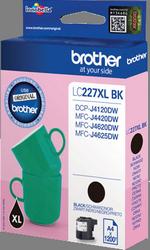 CARTUCHO DE TINTA NEGRO 25 ML BROTHER LC-227