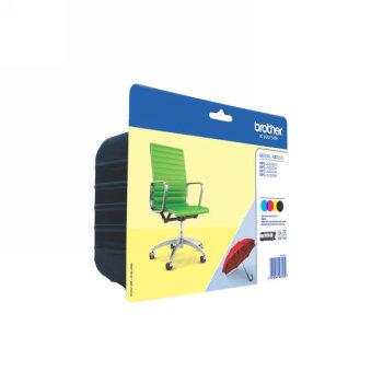 Comprar Pack 3 cartuchos de tinta alta capacidad LC229XLVALBP de Brother online.