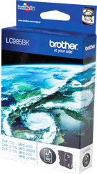 CARTUCHO DE TINTA NEGRO BROTHER LC-985BK