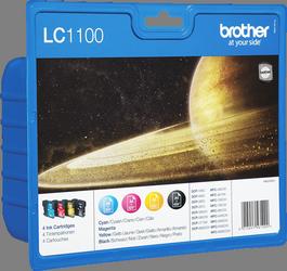 Comprar cartucho de tinta LC1100VALBPDR de Brother online.