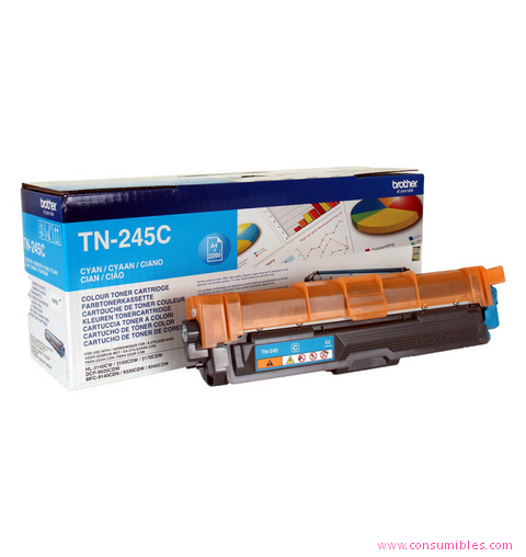 Comprar cartucho de toner TN245C de Brother online.
