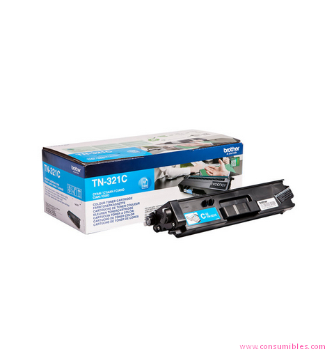 Comprar cartucho de toner TN321C de Brother online.