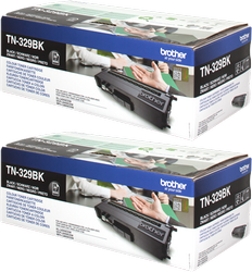 Comprar cartucho de toner TN329BKTWIN de Brother online.