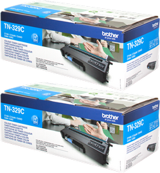 BROTHER MULTIPACK CIAN TN-329CTWIN PAQUETE DE 2 A 6.000 PÁGINAS