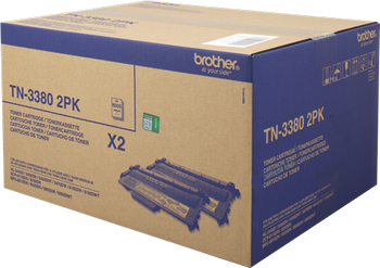 Multipack negro TN-3380 Pack 2 Brother TN-3380TWIN