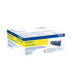 Comprar cartucho de toner TN421Y de Brother online.