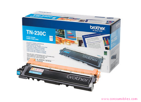 Comprar cartucho de toner TN230c de Brother online.