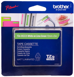 Comprar Cintas para rotular TZe-MQG35 de Brother online.