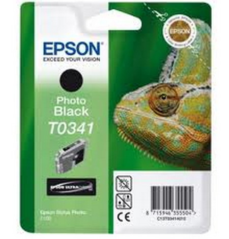 CARTUCHO DE TINTA NEGRO PHOTO 17 ML EPSON T0341
