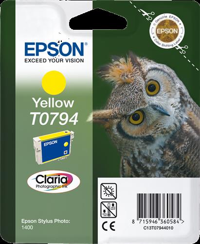 Cartucho de Tinta Amarillo Epson T0794