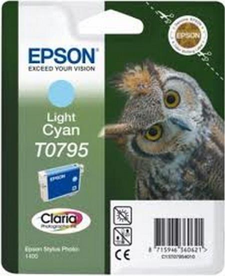 Cartucho de tinta CARTUCHO DE TINTA CIAN CLARO EPSON T0795
