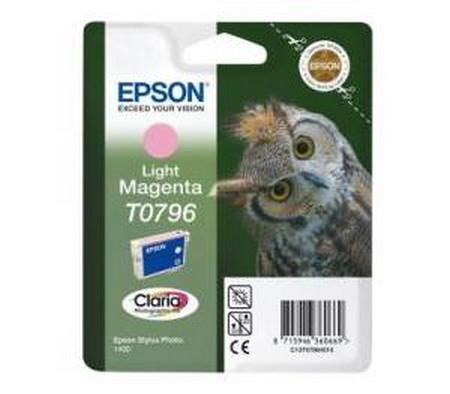 Cartuchos de tinta CARTUCHO DE TINTA MAGENTA CLARO EPSON T0796