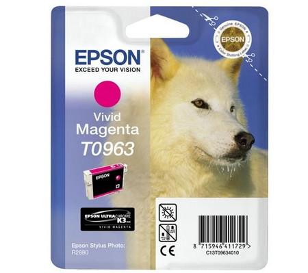 Cartucho de tinta CARTUCHO DE TINTA MAGENTA VIVID EPSON T0963