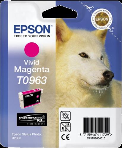 Cartucho de tinta magenta (vivid) C13T09634010 T0963 11.4ml