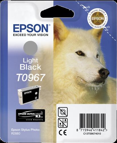 Cartucho de tinta negro (claro) C13T09674010 T0967 11.4ml