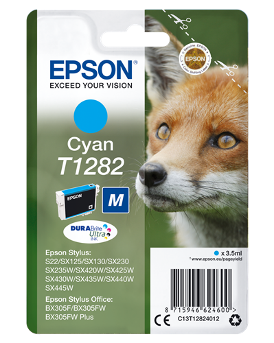 CARTUCHO CIAN EPSON T1282