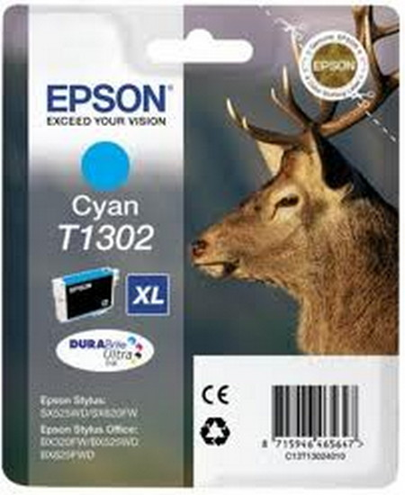 Cartuchos de tinta CARTUCHO DE TINTA CIAN 2540 ML EPSON T1301