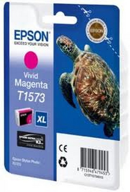 Cartucho de tinta CARTUCHO DE TINTA MAGENTA VIVID 259 ML EPSON T1573