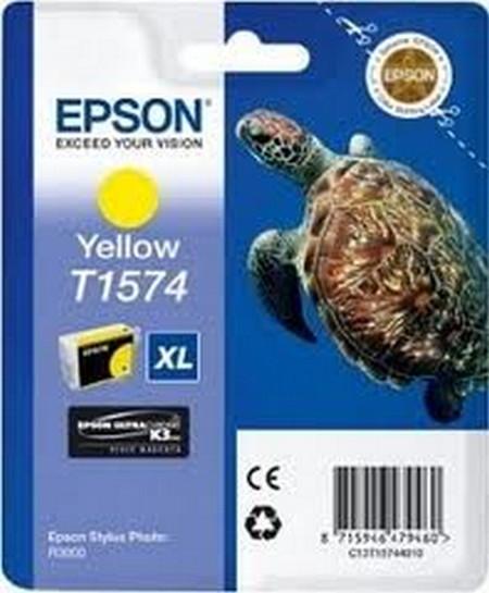 Cartucho de tinta CARTUCHO DE TINTA AMARILLO 259 ML EPSON T1574