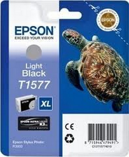 Cartucho de tinta CARTUCHO DE TINTA NEGRO CLARO 259 ML EPSON T1577