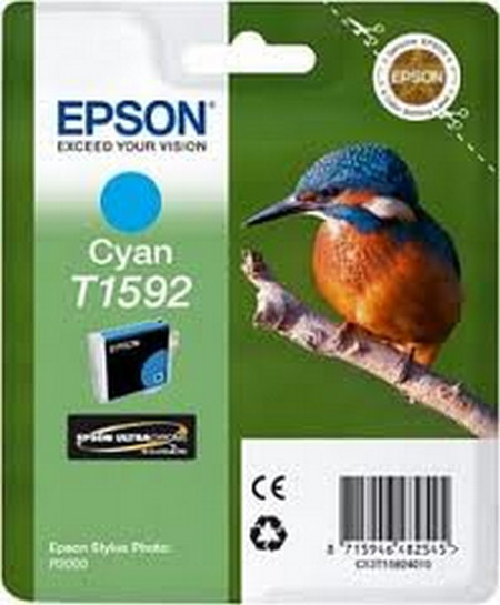 CARTUCHO DE TINTA CIAN 17 ML T1592 para Stylus Photo R2000