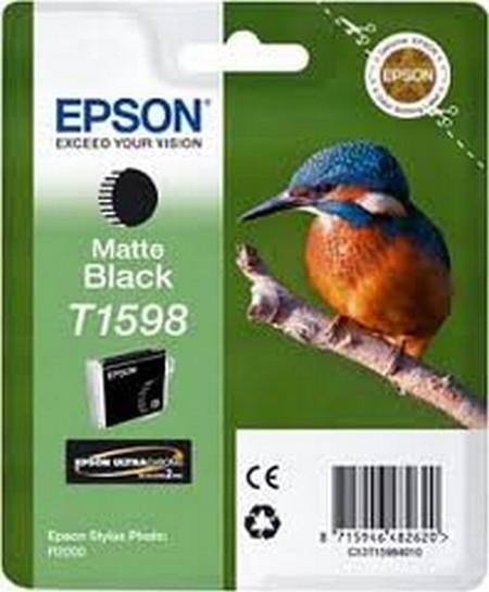 Cartuchos de tinta CARTUCHO DE TINTA NEGRO MATE 17 ML EPSON T1598
