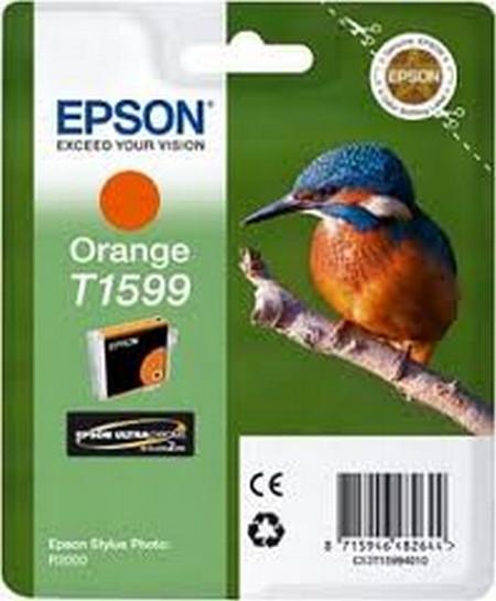 Cartuchos de tinta CARTUCHO DE TINTA NARANJA 17 ML EPSON T1599