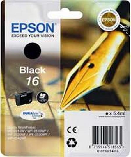 Cartucho de tinta CARTUCHO DE TINTA NEGRO EPSON 16 - (T1621)