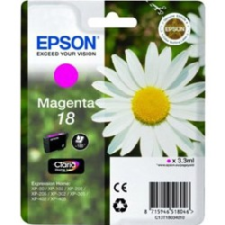 Cartucho de tinta CARTUCHO DE TINTA MAGENTA CLARIA HOME EPSON 18 - (T1803)