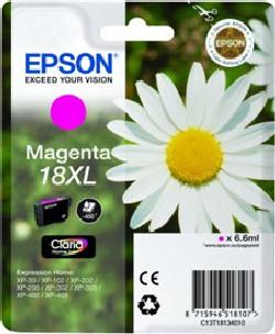 Cartucho de tinta CARTUCHO DE TINTA MAGENTA CLARIA HOME ALTA CAPACIDAD EPSON 18XL