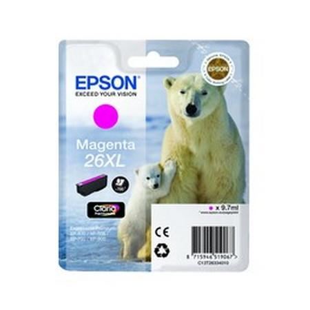 Cartucho de tinta CARTUCHO DE TINTA MAGENTA EPSON 26 - (T2633)