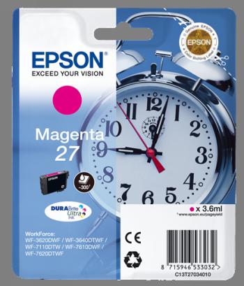 Comprar cartucho de tinta C13T27034010 de Epson online.