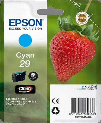 Cartuchos de tinta CARTUCHO DE TINTA CIAN 3.2 ML EPSON 29 - (T2982)