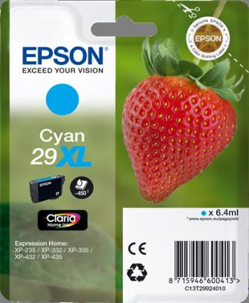 Cartucho de tinta CARTUCHO DE TINTA CIAN 6.4 ML XL ALTA CAPACIDAD EPSON 29XL