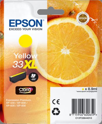 Comprar cartucho de tinta alta capacidad C13T33644010 de Epson online.