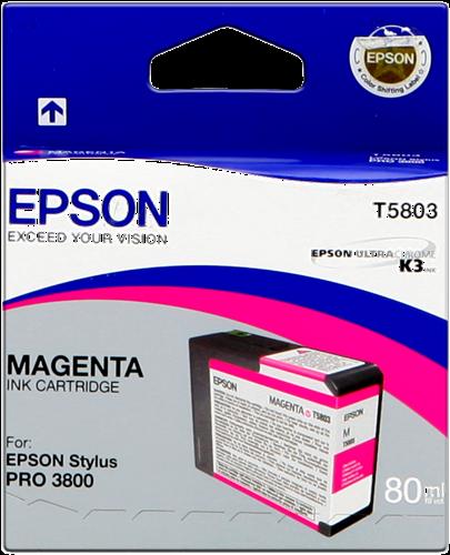EPSON STYLUS PRO-3800/3880 CARTUCHO MAGENTA (80ML)