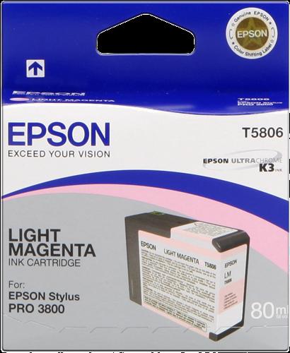 EPSON STYLUS PRO-3800/3880 CARTUCHO MAGENTA CLARO (80ML)