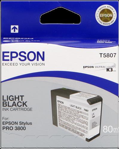 Cartucho de Tinta Gris 80 ml Epson T5807