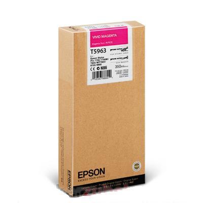 Cartuchos de tinta CARTUCHO DE TINTA MAGENTA VIVO 350 ML EPSON T5963