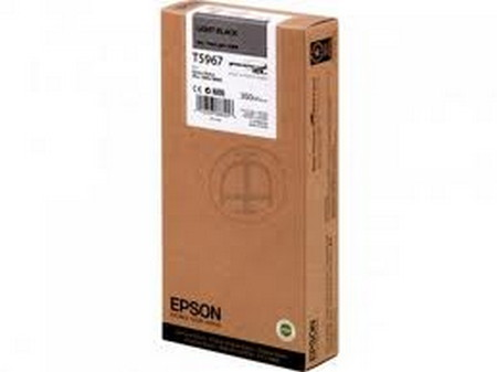 Cartuchos de tinta CARTUCHO DE TINTA GRIS 350 ML EPSON T5967