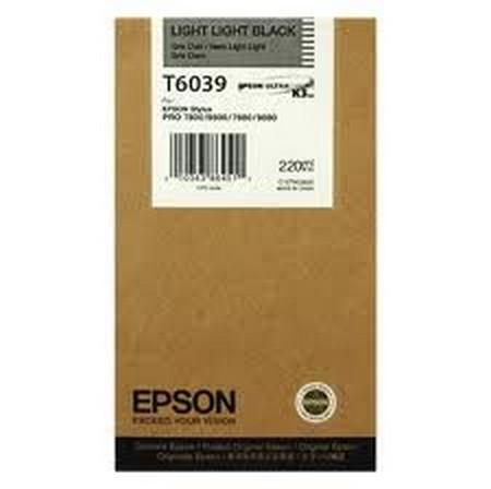Cartucho de tinta CARTUCHO DE TINTA NEGRO CLARO CLARO 220 ML EPSON T6039
