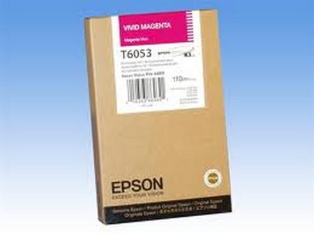 Cartucho de tinta CARTUCHO DE TINTA MAGENTA 110 ML EPSON T6053