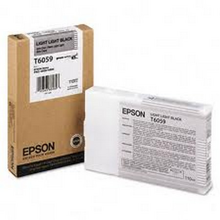 Cartuchos de tinta CARTUCHO DE TINTA NEGRO CLARO CLARO 110 ML EPSON T6059