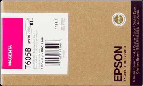 Cartucho de Tinta Magenta 110 ml T605B
