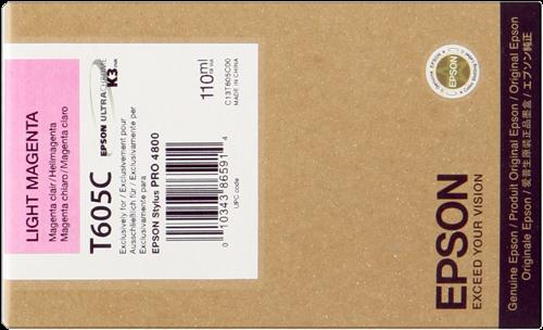 Cartucho de Tinta Magenta Claro 110 ml T605C