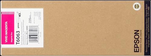 Cartucho de tinta magenta (vivid) C13T606300 T6063 220ml
