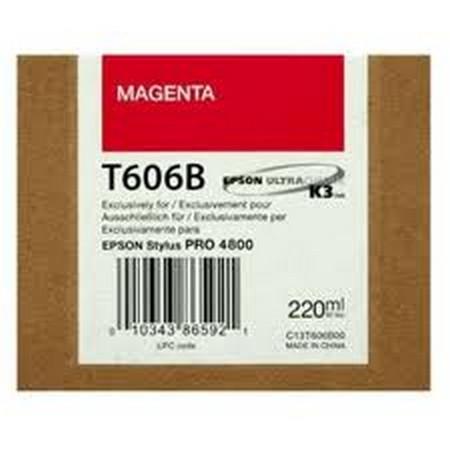 Comprar cartucho de tinta C13T606B00 de Epson online.