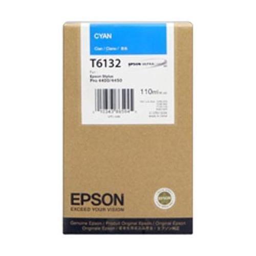 Cartucho de tinta CARTUCHO DE TINTA CIAN 110 ML EPSON T6132