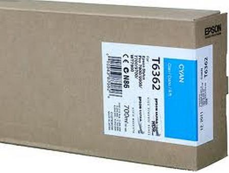 Cartuchos de tinta CARTUCHO DE TINTA CIAN 700 ML EPSON T6362