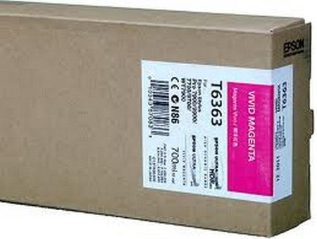 Cartucho de tinta CARTUCHO DE TINTA MAGENTA VIVO 700 ML EPSON T6363
